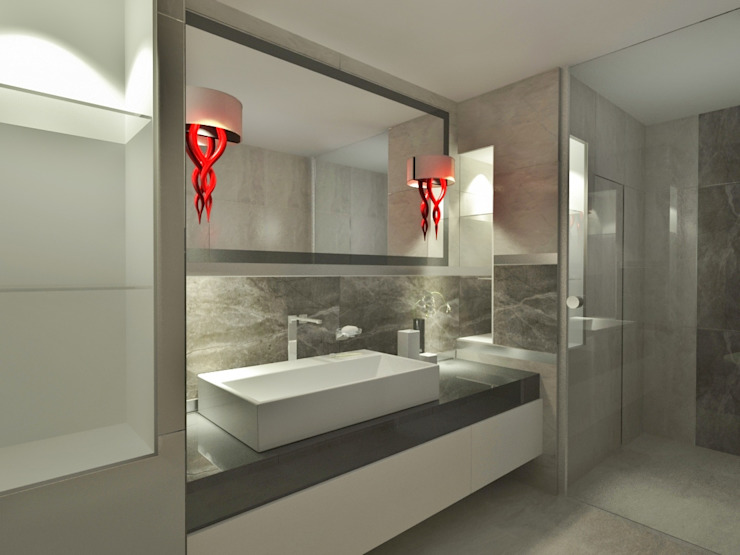 Modern bathroom by INdesign Modern