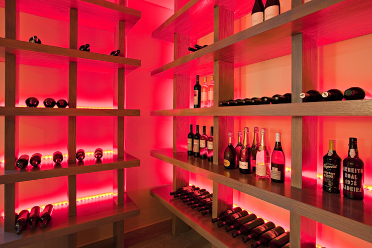 Asian style wine cellar by Susana Camelo Asian