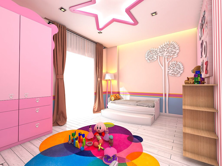 Modern Kid's Room by Murat Aksel Architecture Modern Wood Wood effect
