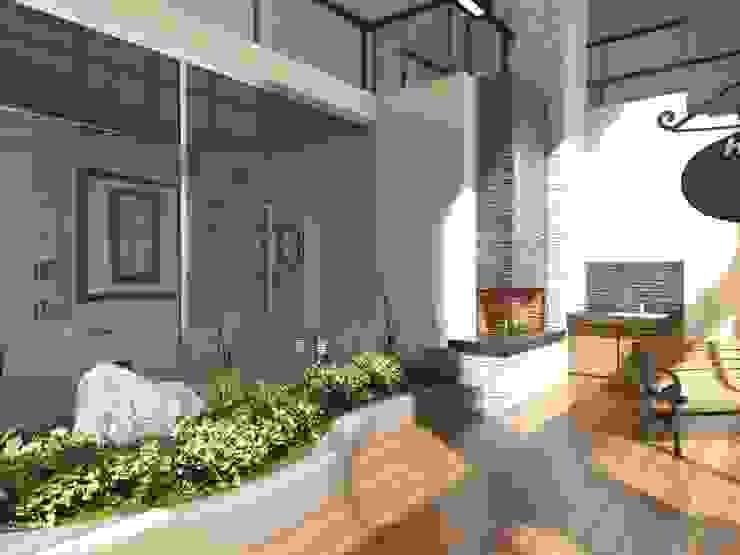 Housing Modern Kış Bahçesi Murat Aksel Architecture Modern Ahşap Ahşap rengi
