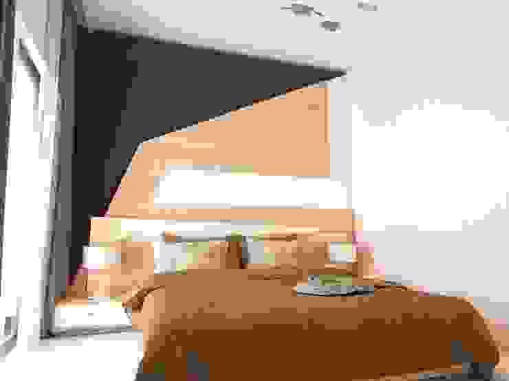 Housing Modern Yatak Odası Murat Aksel Architecture Modern Ahşap Ahşap rengi