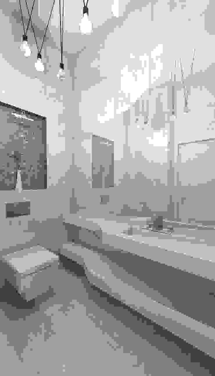 Housing Modern Banyo Murat Aksel Architecture Modern Mermer