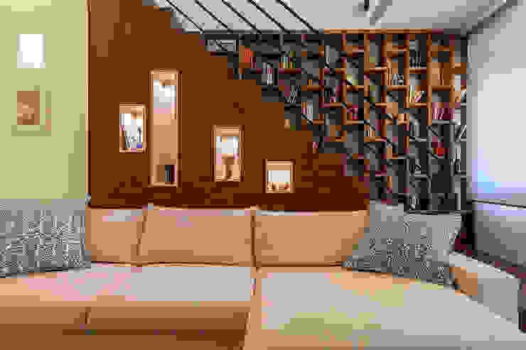 Casa G-E Soggiorno moderno di QUADRASTUDIO Moderno