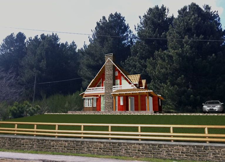 Rustic style house by Giovanni Marra Architetto Counselor Rustic