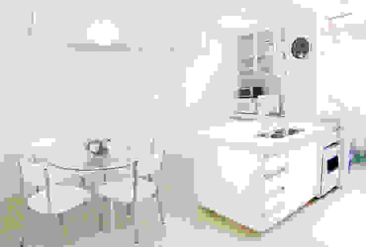 Cobertura – Residência FR em São Paulo Cozinhas modernas por MAAC. Arquitetura Moderno