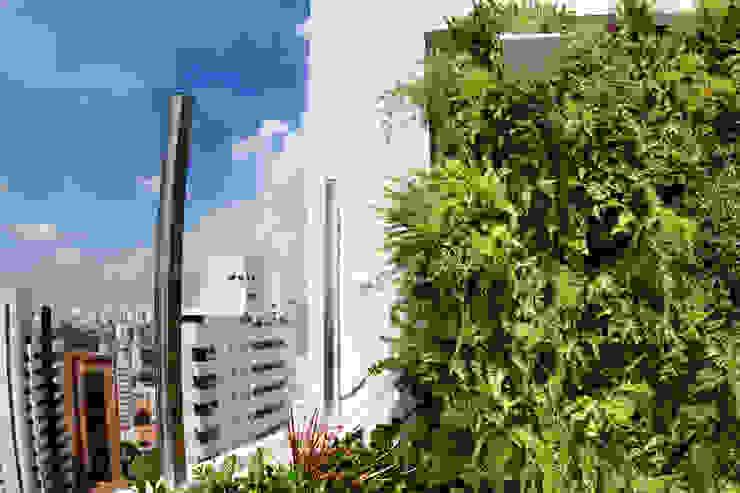 Cobertura – Residência FR em São Paulo Jardins modernos por MAAC. Arquitetura Moderno
