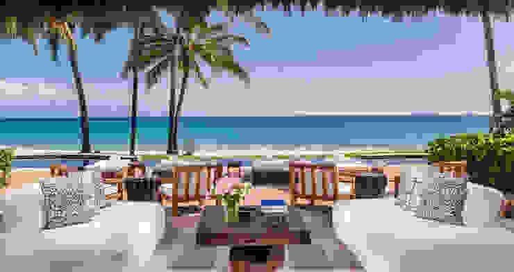 Patios & Decks by BR  ARQUITECTOS, Tropical