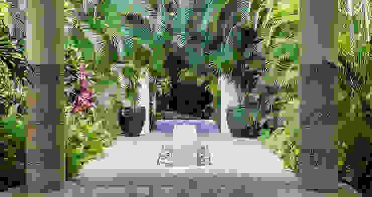 Сады в . Автор – BR  ARQUITECTOS, Тропический