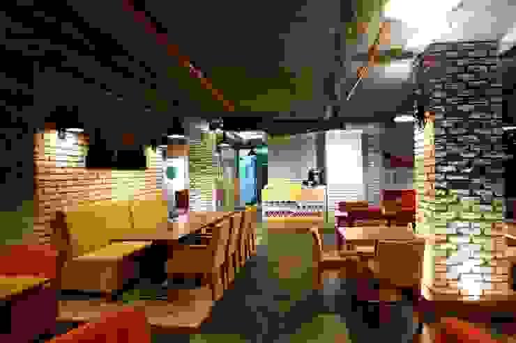 Restaurant Murat Aksel Architecture Kırsal/Country Demir/Çelik