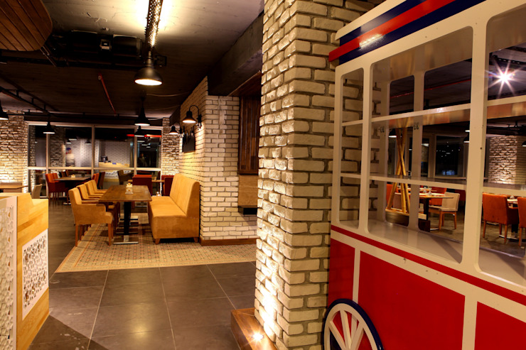 Restaurant Murat Aksel Architecture Kırsal/Country Ahşap Ahşap rengi