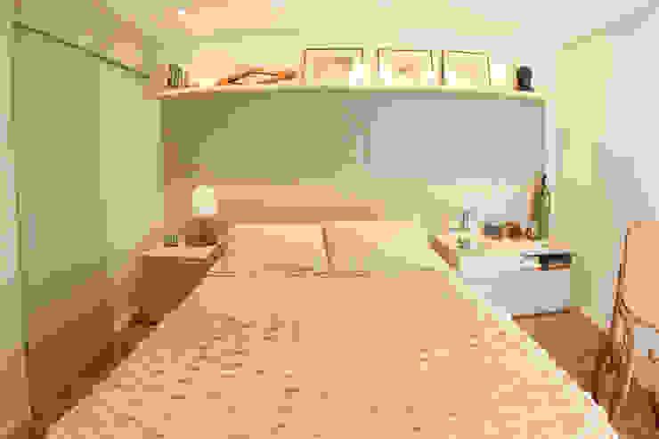 Apartamento LR em São Paulo Quartos minimalistas por MAAC. Arquitetura Minimalista
