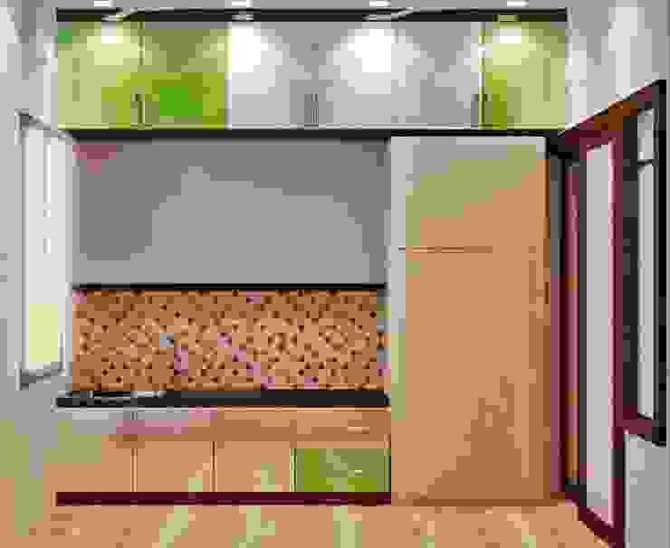 Modular kitchen Modern kitchen by Creazione Interiors Modern
