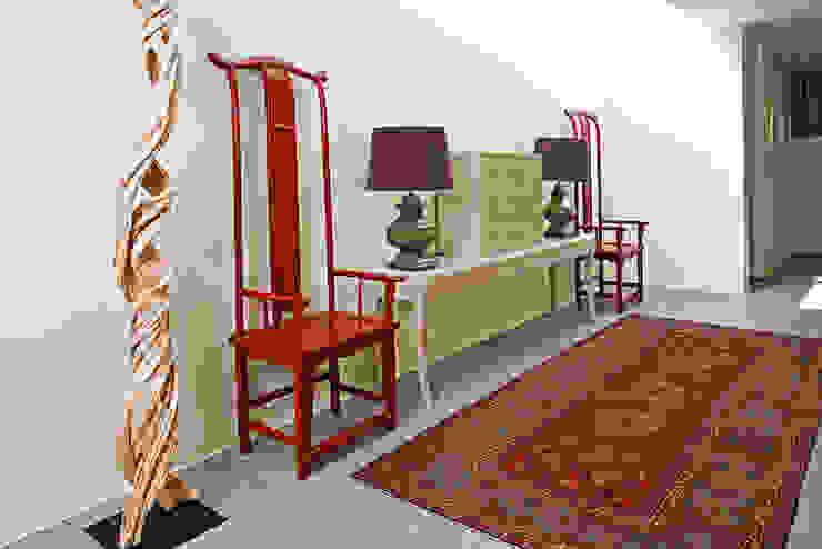Casa de Palmar | 2009 Corredores, halls e escadas asiáticos por Susana Camelo Asiático