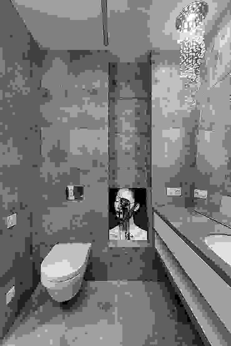 Minimalist style bathroom by Olga Kravchuta design Minimalist