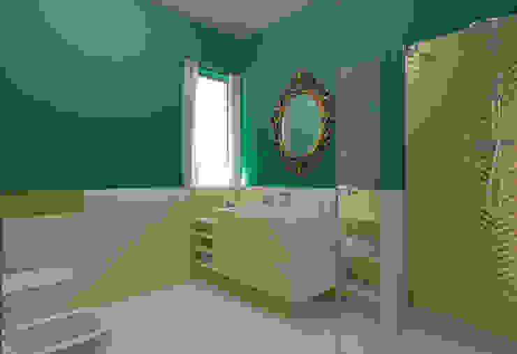 Classic mood, casa Casazza, Apice (Bn) VM Design Bagno in stile classico Verde
