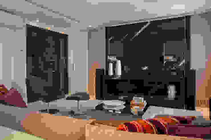 Decoração de Interiores - Projeto Residencial - Bairro Campo Belo - SP Salas de estar modernas por Silvia Romanholi Design de Interiores Moderno