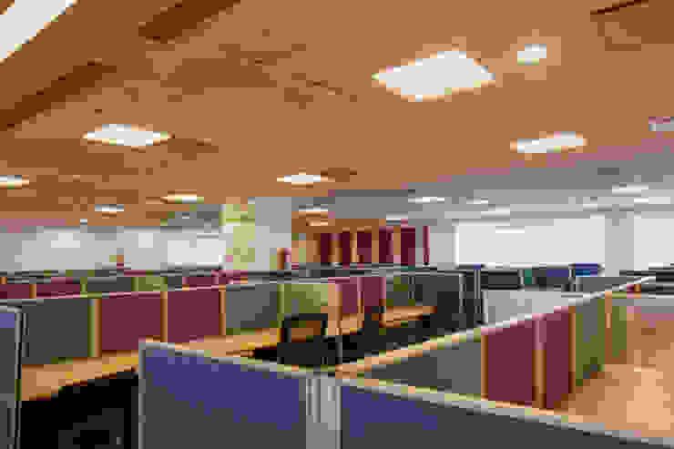 work-space area Modern study/office by Kreeativ design studio Modern MDF