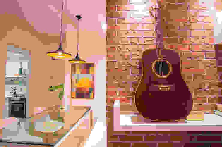 FLAT B&C Salas de jantar modernas por Casa2640 Moderno