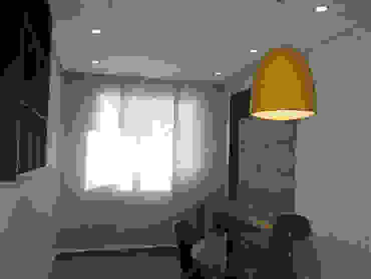 Sala de Estar e Jantar - apartamento de 45 m² Salas de estar modernas por Barros Campesi Arquitetura Moderno