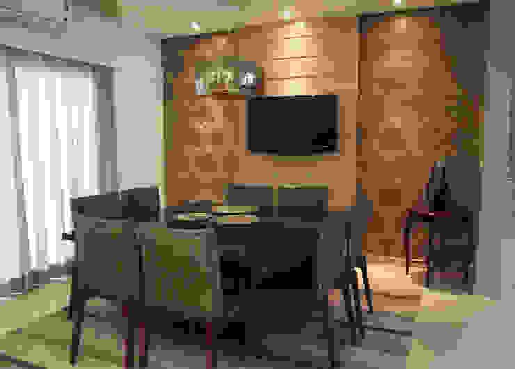 Sala de Jantar Salas de jantar modernas por Barros Campesi Arquitetura Moderno