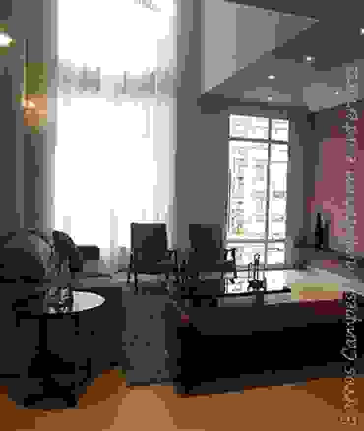 Sala de Estar Salas de estar modernas por Barros Campesi Arquitetura Moderno