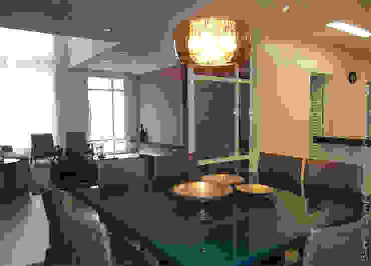 Sala de Jantar / Estar Salas de jantar modernas por Barros Campesi Arquitetura Moderno