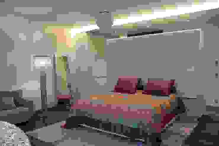 Wohnung E Moderne Schlafzimmer von SMART LIVING GmbH Modern
