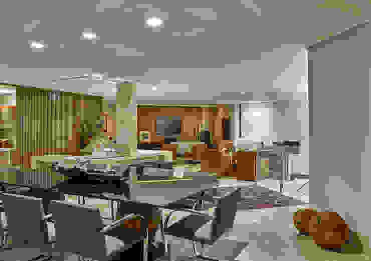 Isabela Canaan Arquitetos e Associados Modern Dining Room