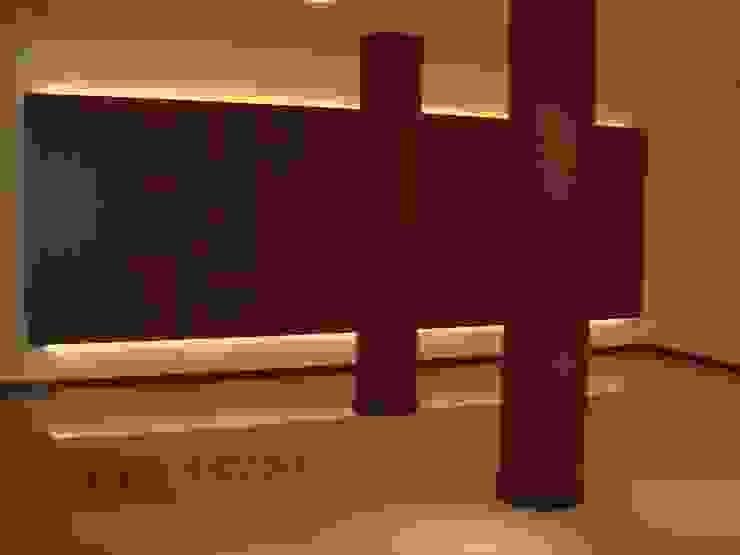 Edificio <q>Del Centenario</q> Pasillos, vestíbulos y escaleras modernos de Arquitecto Oscar Alvarez Moderno