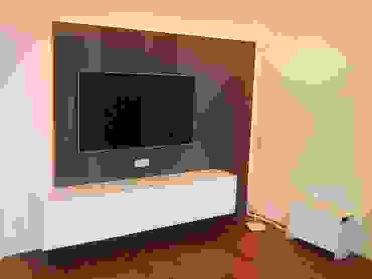 de TV WALL Designmöbel Moderno Compuestos de madera y plástico