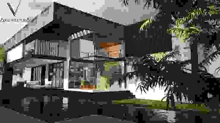 Fachada Lateral de V Arquitectura