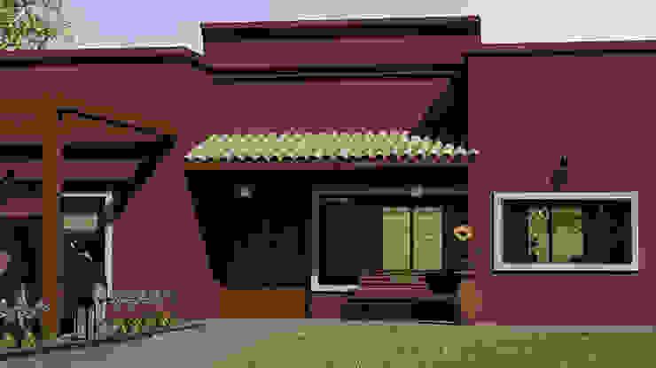 Casa Country Rustica de Rohe Arquitectura+Diseño