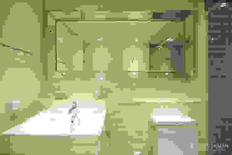 클래식한 느낌의 61py 인테리어: 홍예디자인의  욕실,클래식