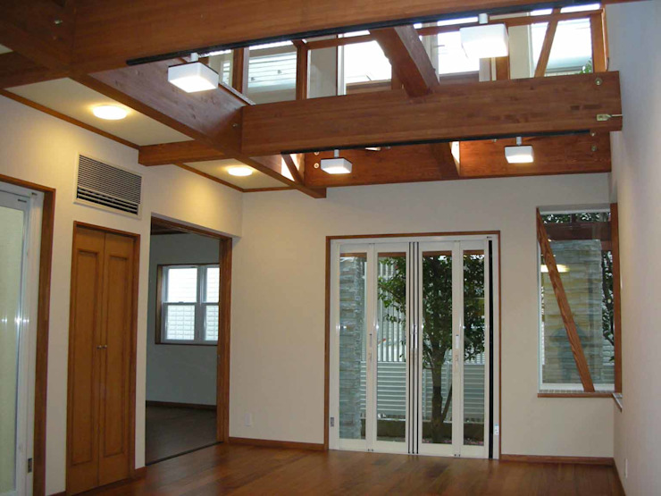 リビング オリジナルデザインの キッチン の 吉村1級建築士事務所 オリジナル
