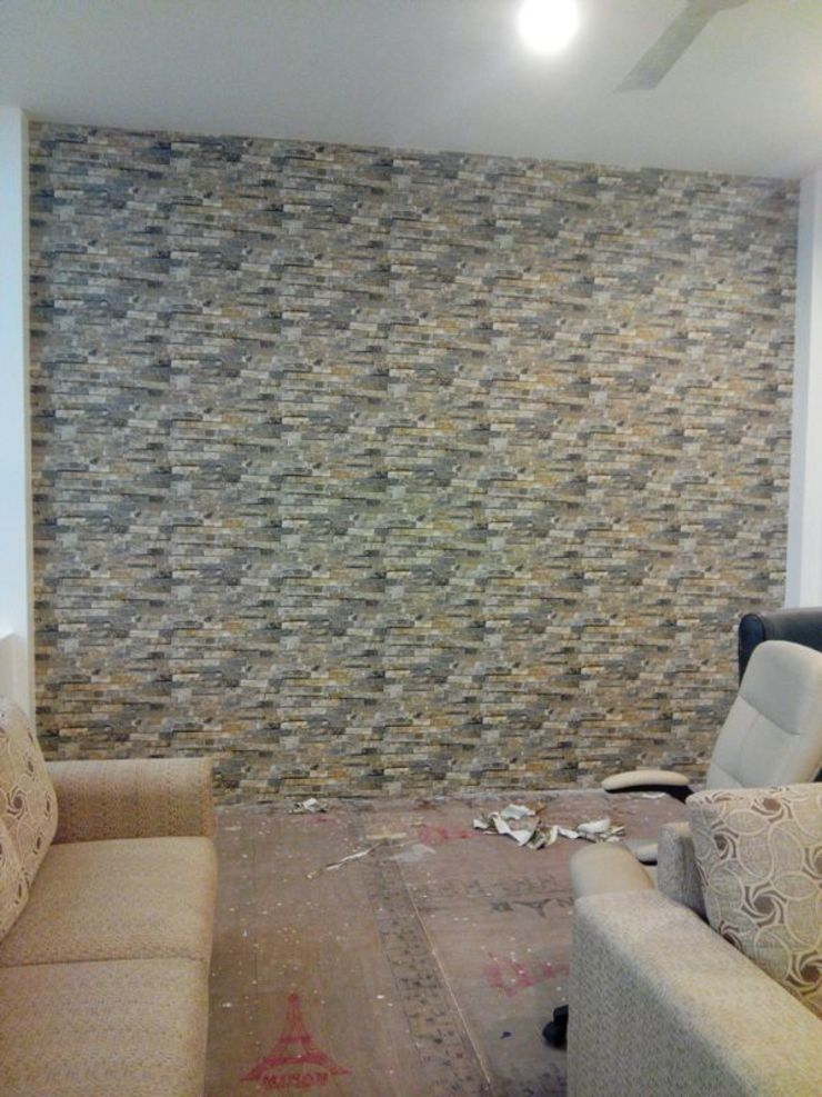 Interior Park Showroom in Kirti Nagar, Delhi Country style living room by Decor At Door Country