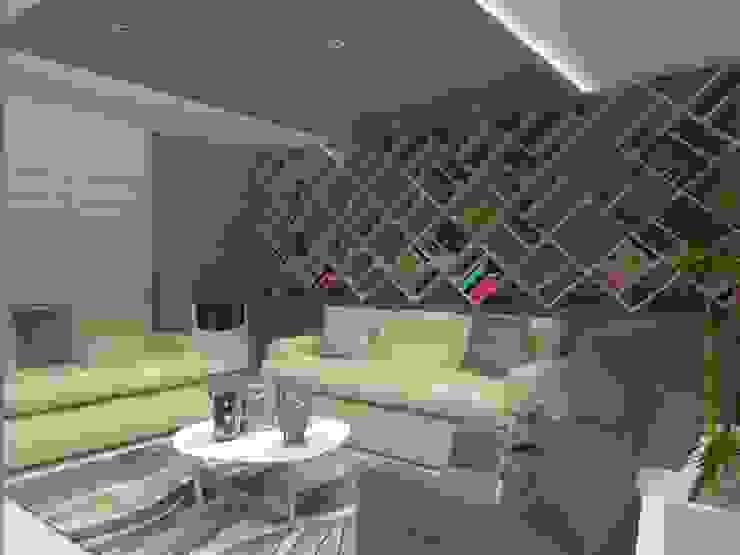 SALA MULTIMEDIA AurEa 34 -Arquitectura tu Espacio- Salas multimedia modernas Multicolor