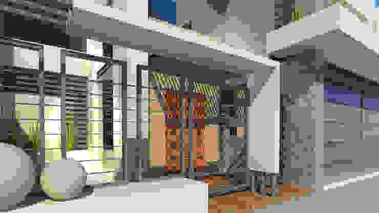 Valle Anahuac Casas modernas de CouturierStudio Moderno