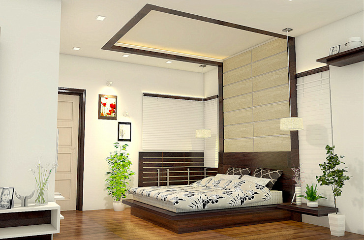 Bedroom Design BN Architects Modern style bedroom