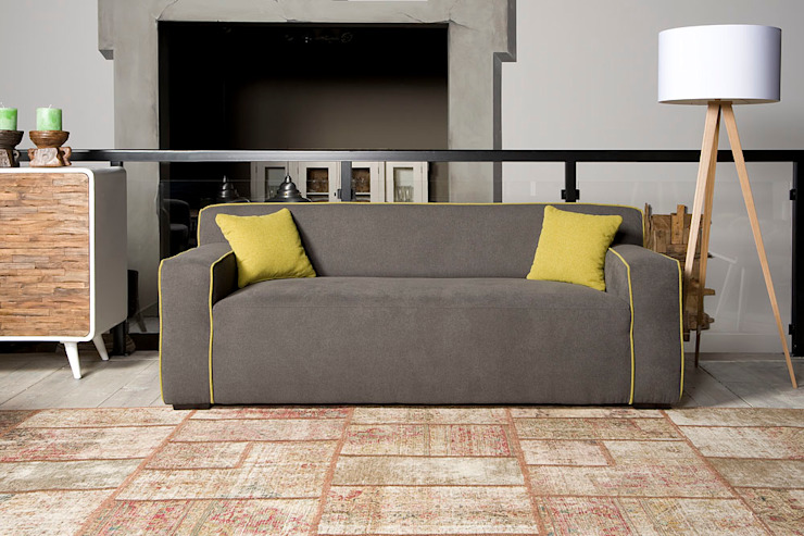 Bjorn 2,5 zits sofa - Floris van Gelder: modern  door Floris van Gelder, Modern