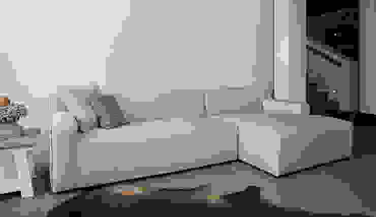 Bjorn loungebank - Floris van Gelder: modern  door Floris van Gelder, Modern