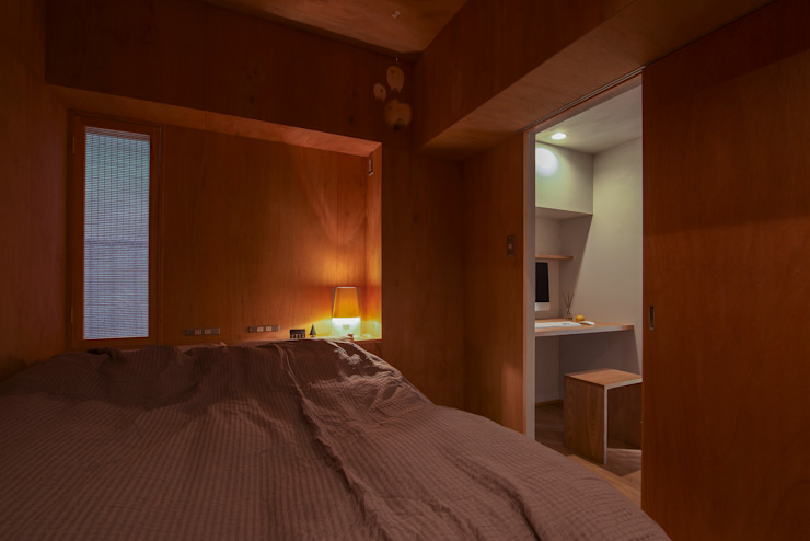 Modern Bedroom by Nobuyoshi Hayashi Modern