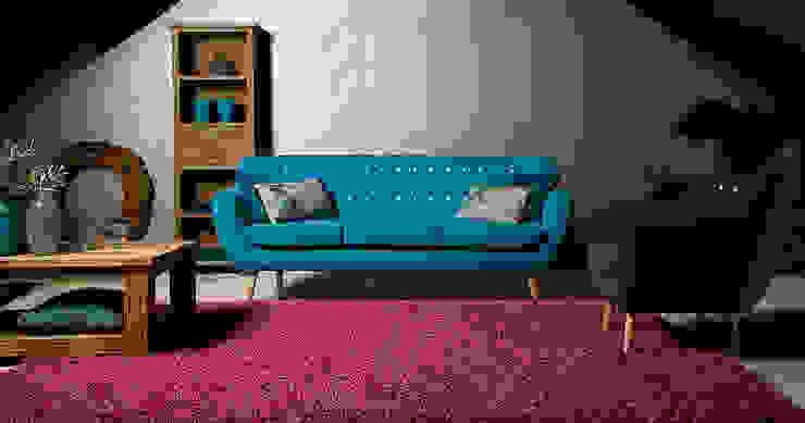 Sixties 3zits sofa - Floris van Gelder: modern  door Floris van Gelder, Modern
