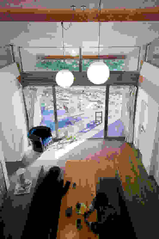 Salas de estilo moderno de Nobuyoshi Hayashi Moderno