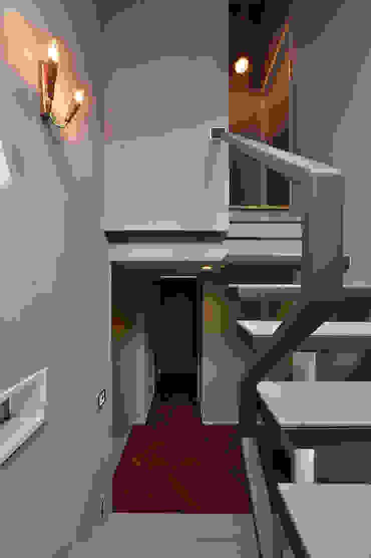 Nobuyoshi Hayashi Modern Corridor, Hallway and Staircase