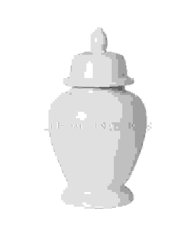 Ваза с крышкой V1022 от LeHome Interiors Классический Керамика