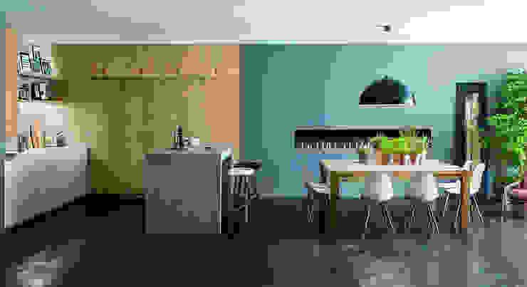 cucine Cucina moderna di info5635 Moderno