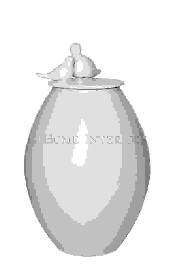 Ваза с крышкой V1110 от LeHome Interiors Классический Керамика