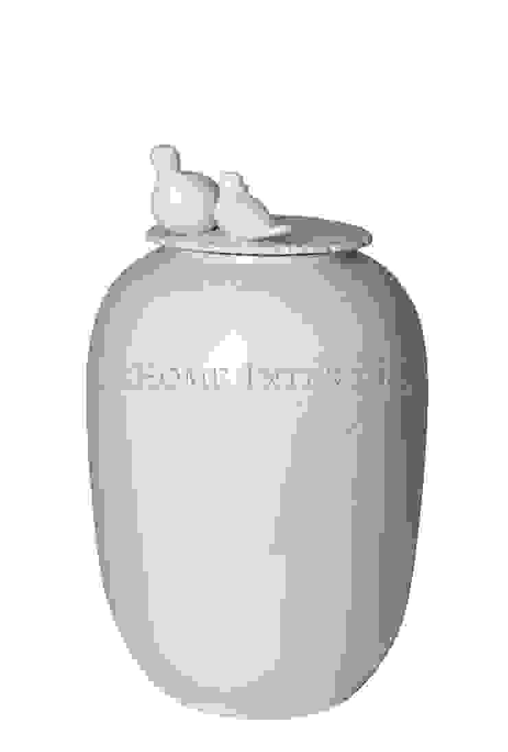 Ваза с крышкой V1111 от LeHome Interiors Классический Керамика