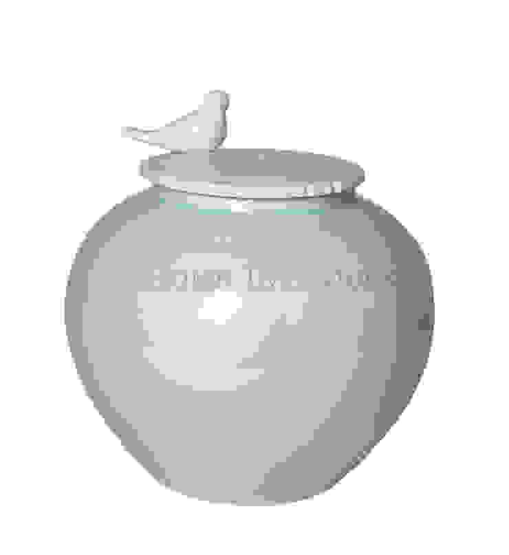 Ваза с крышкой V1112 от LeHome Interiors Классический Керамика
