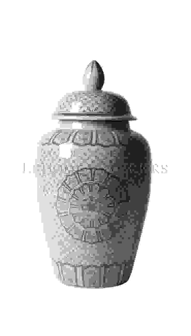 Ваза с крышкой V1113 от LeHome Interiors Классический Керамика